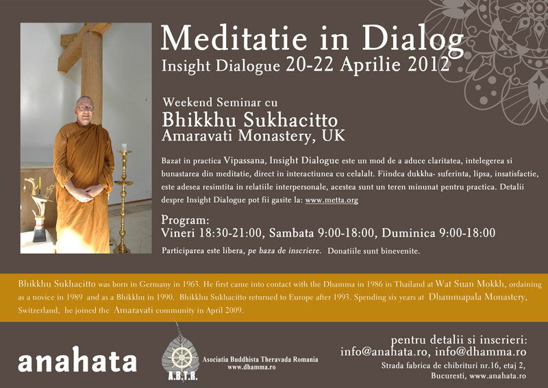 Meditatie In Dialog 2012